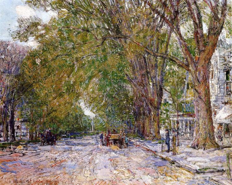 Elms, East Hampton, New York, 1920 - Childe Hassam