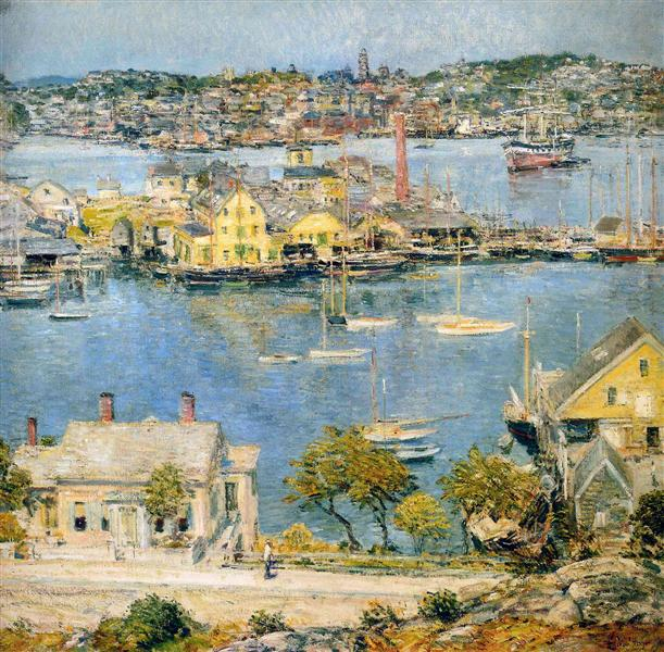 Gloucester Harbor - Childe Hassam