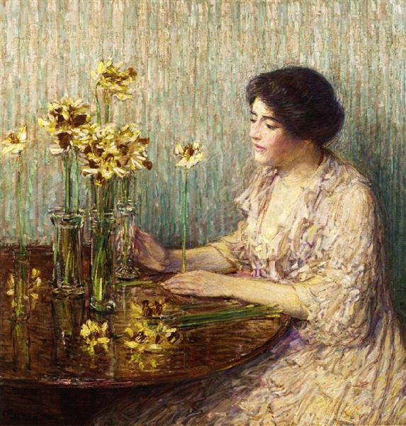 Jonquils, 1902 - Childe Hassam