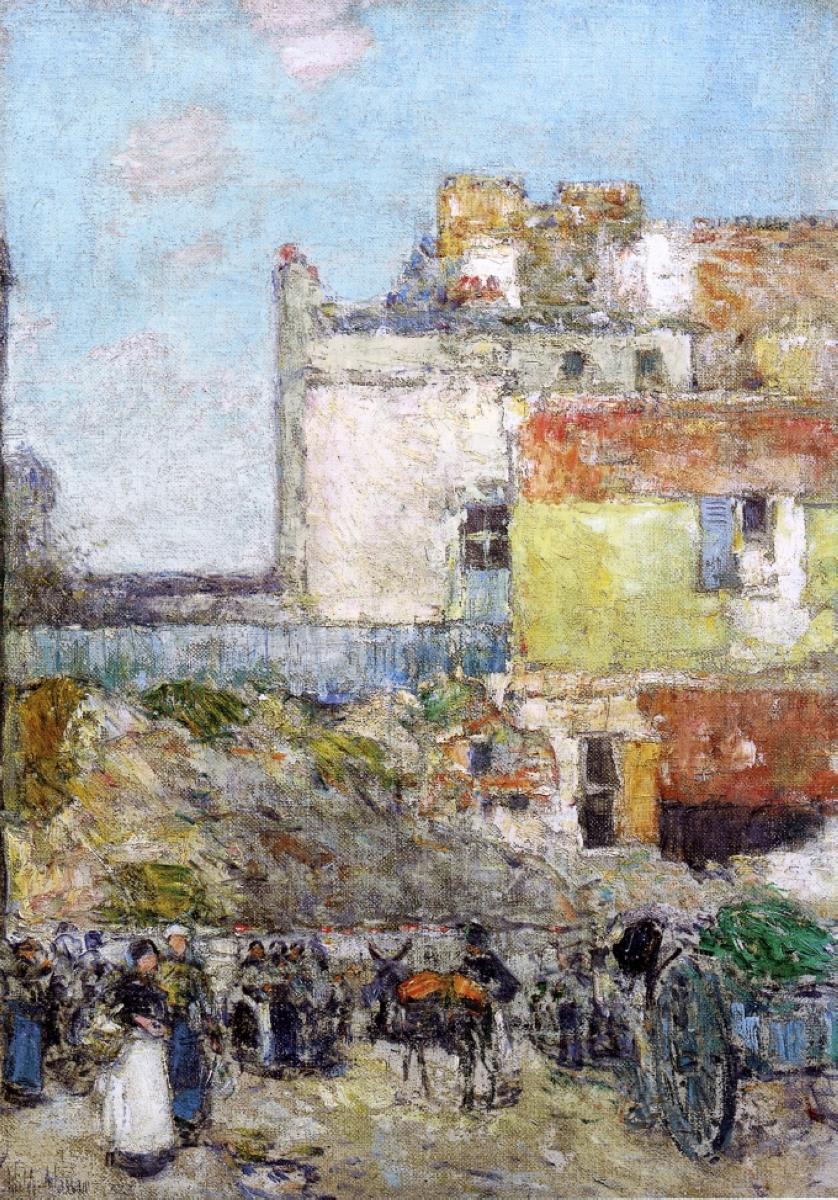 Childe hassam kanvas tablo burada bask - Marche st pierre horaire ...