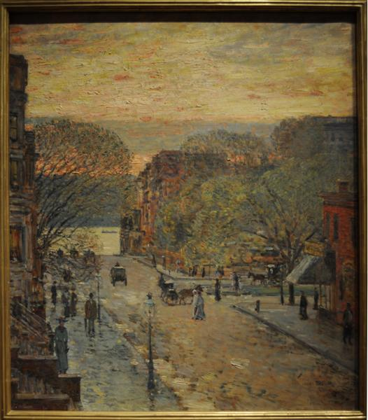 Spring on West 78th Street, 1905 - Childe Hassam
