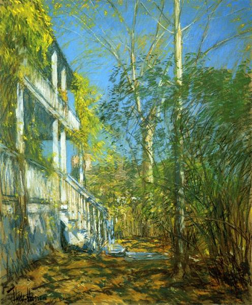 Summer at Cos Cob, 1902 - Childe Hassam
