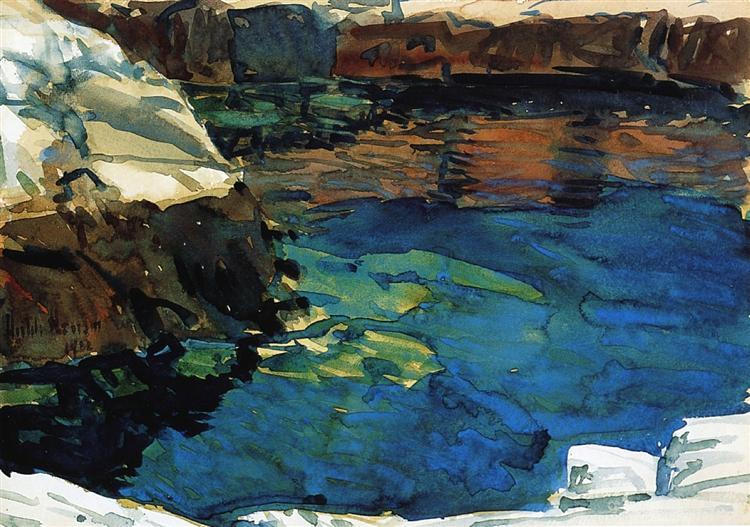 The Cove, 1912 - Childe Hassam