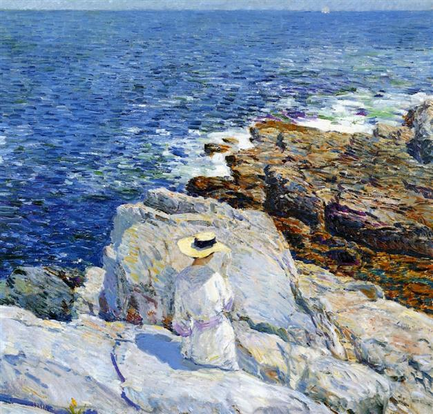 The South Ledges, Appledore, 1913 - Childe Hassam