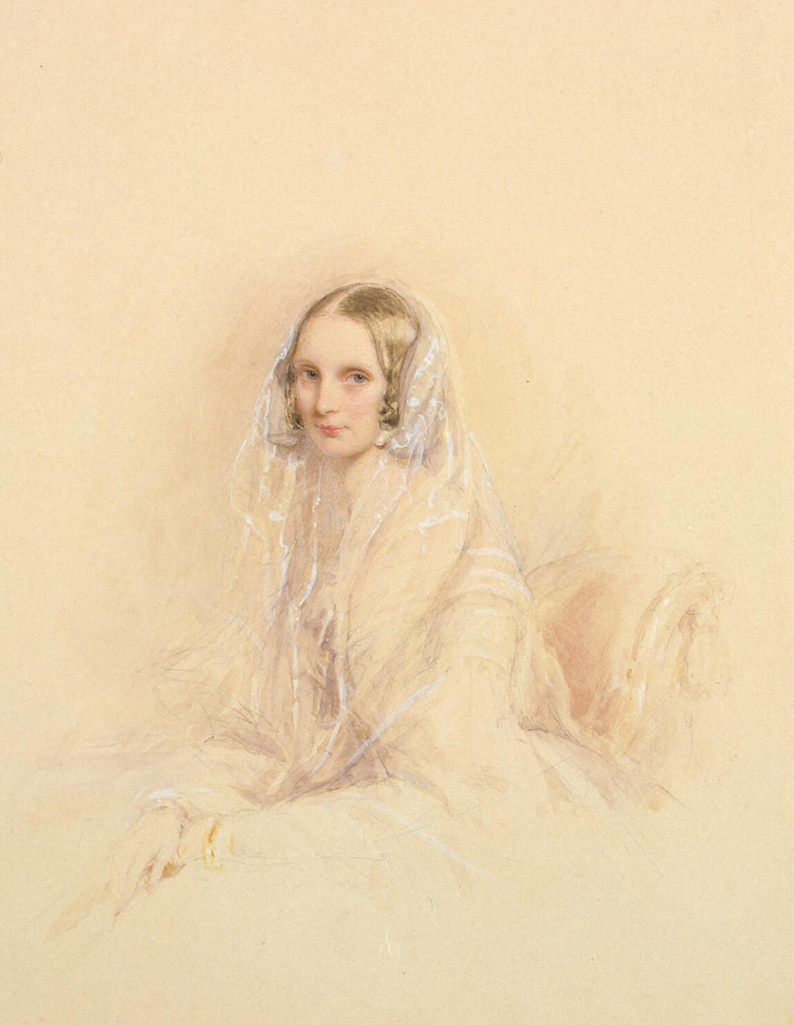 Portrait of Empress Alexandra Fedorovna, 1845