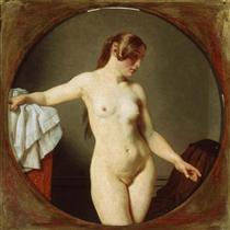 Female Model, Florentine - Christoffer Wilhelm Eckersberg