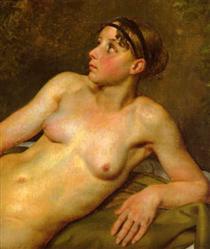 Nude Study - Christoffer Wilhelm Eckersberg