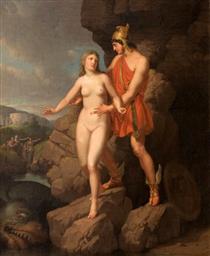 Perseus Delivering Andromeda - Christoffer Wilhelm Eckersberg