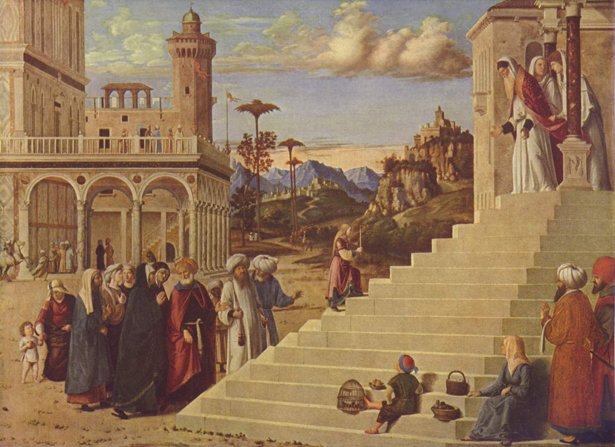 Presentation of the Virgin at the Temple, 1500