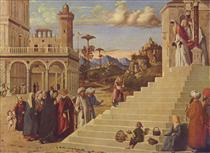 Presentation of the Virgin at the Temple - Cima da Conegliano