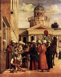 The Healing of Anianus - Cima da Conegliano