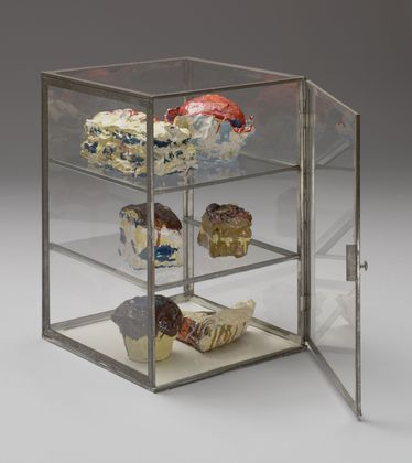 Pastry Case, 1961 - Claes Oldenburg