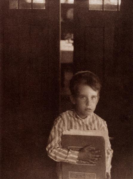 Boy with Camera Work, 1905 - Clarence White