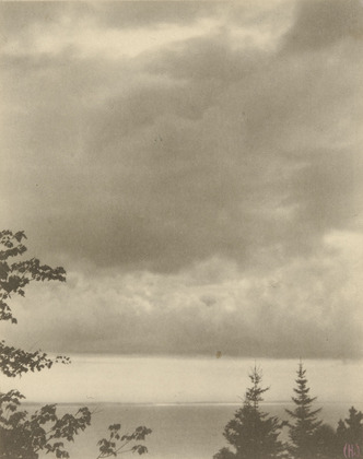 Clouds, Maine - Clarence White