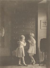 Jane and Mary Elizabeth Wilson - Clarence White