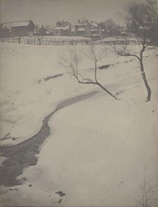Winter Landscape, Newark, Ohio, 1900 - Clarence White