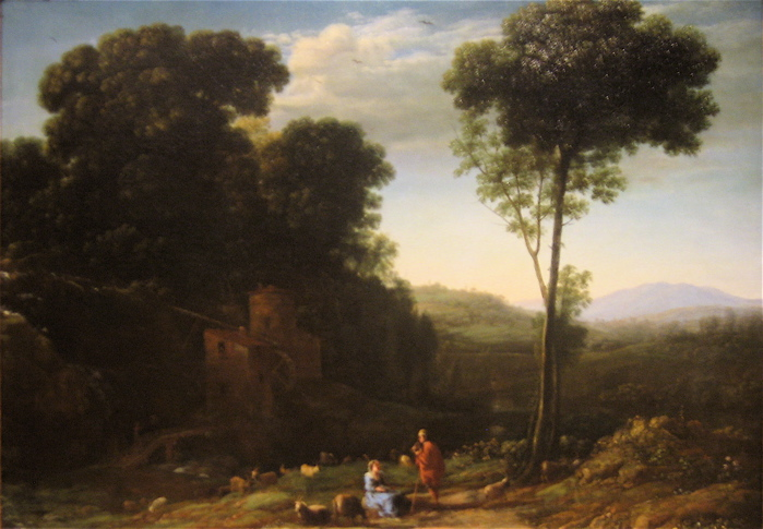 Pastoral Landscape with a Mill, 1634 - Claude Lorrain