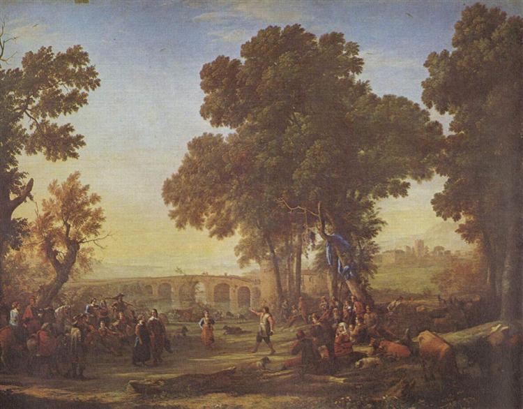 La Fête villageoise, 1639 - Claude Lorrain