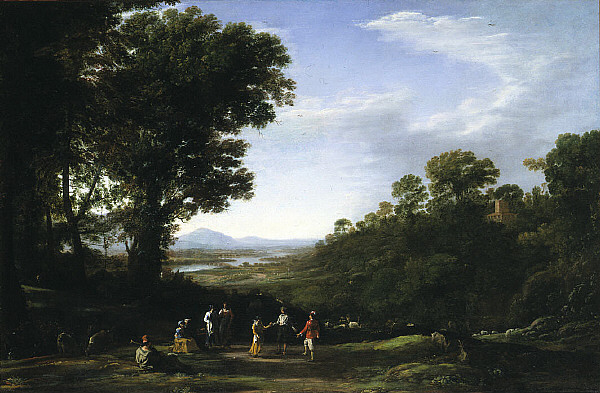 Villagers Dancing, c.1638 - Claude Lorrain
