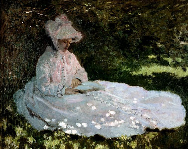 A Woman Reading, 1872 - Claude Monet
