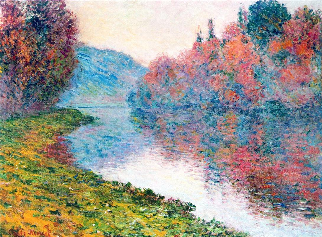 Обои Пейзаж, картина, Жуан-ле-Пен, Клод Моне. Разное foto 8