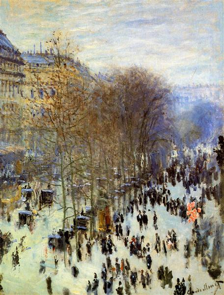 Boulevard of Capucines, 1873 - 1874 - Claude Monet