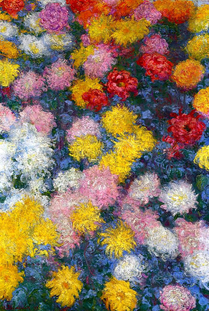 impressionism monet flowers - photo #17