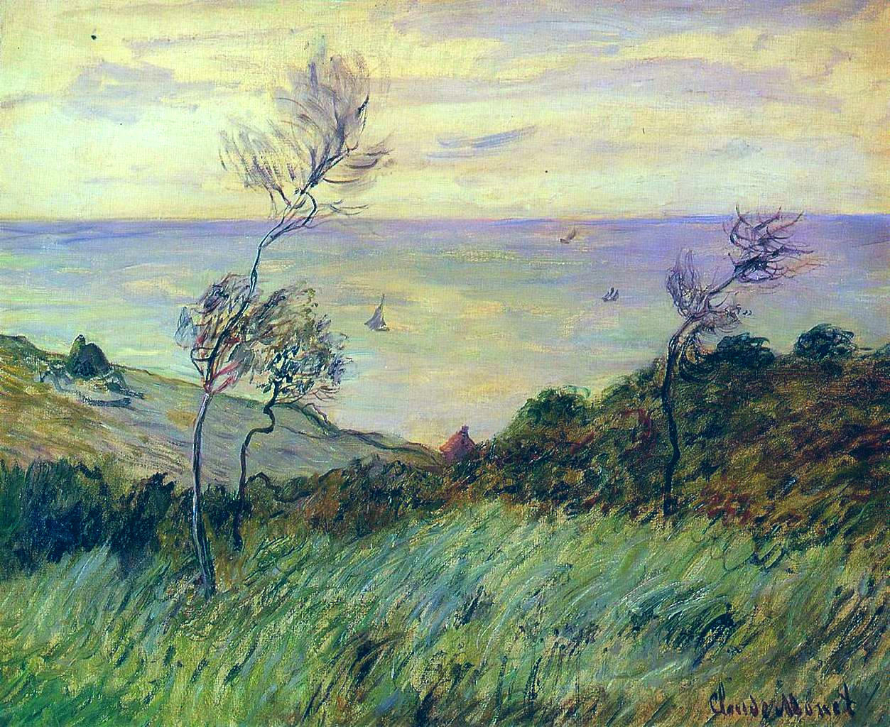 Cliffs of Varengeville - Claude Monet
