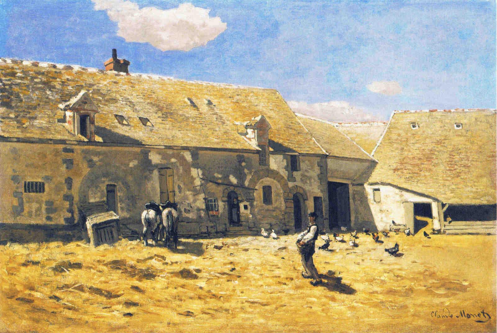 FarmyardatChailly, 1865