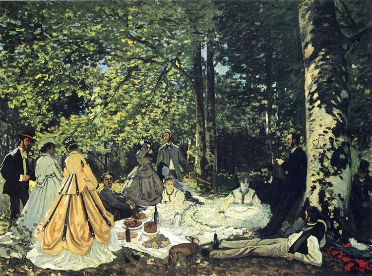 Lunch on the Grass, 1865 - Claude Monet