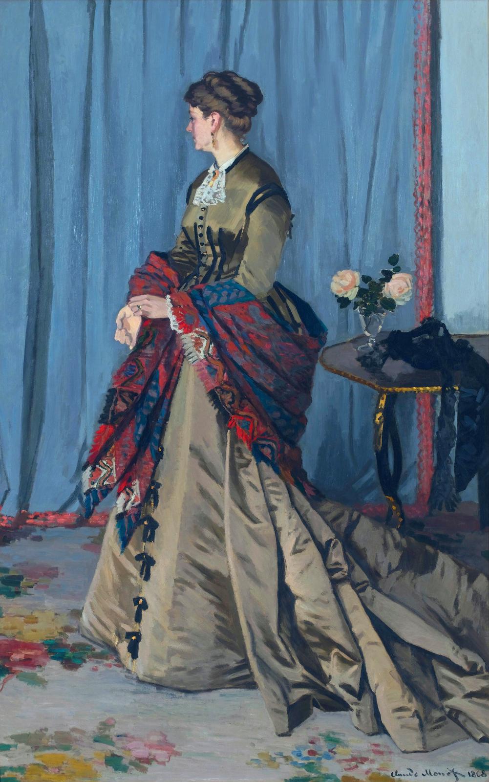 Portrait of Madame Gaudibert, 1868