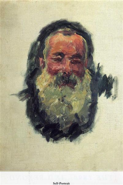 Self Portrait, 1917 - Claude Monet