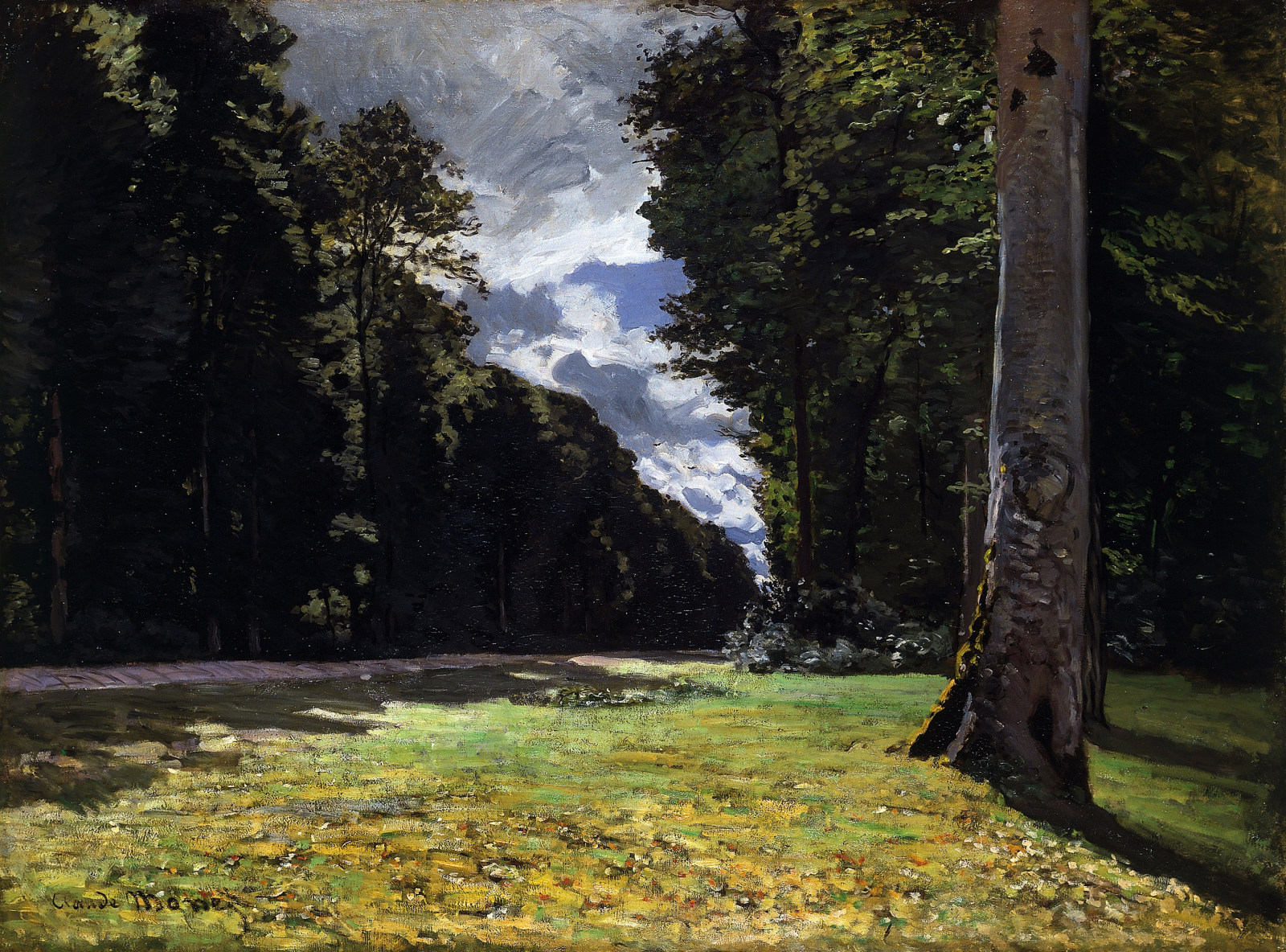 The Pave de Chailly in the Fontainbleau Forest, 1865