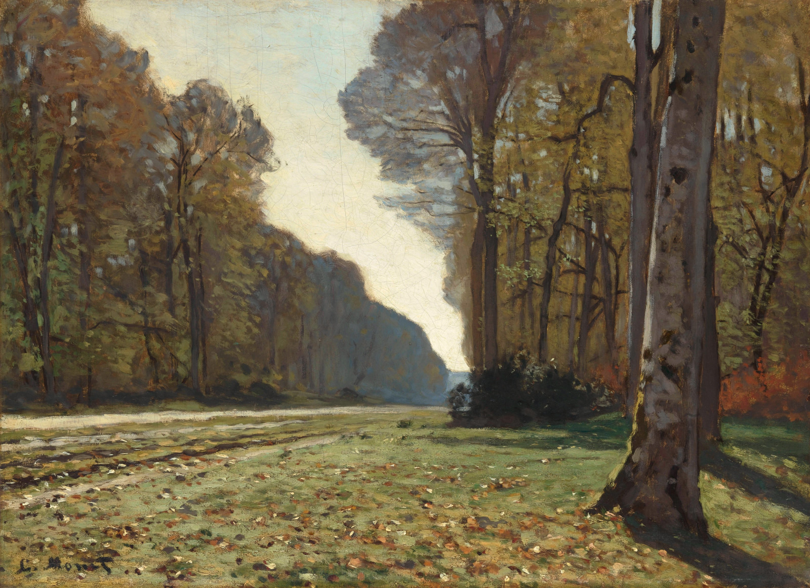 The Pave de Chailly, 1865