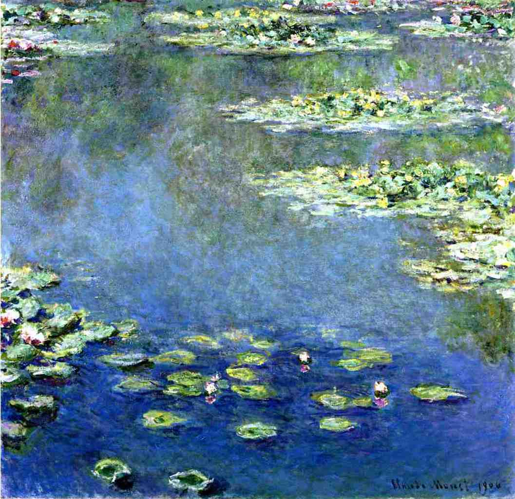 water lilies 1906 1907 claude monet