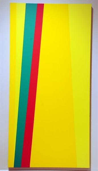 Verticales jaunes, 1958 - Клод Тусіньян