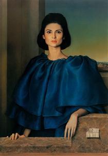 Portrait of María Luisa Velasco - Клаудіо Браво