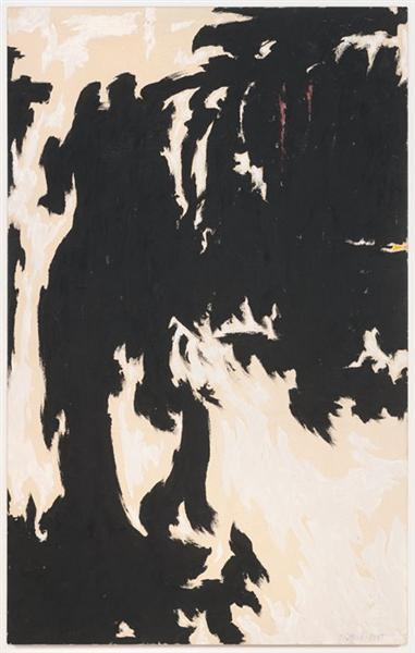 1947-H-No. 3, 1947 - Clyfford Still