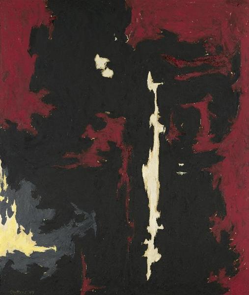 1949-A-No.1, 1949 - Clyfford Still