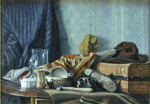 Still Life, 1872 - Constantin Stahi