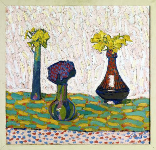 Stillleben mit drei Vasen - Cuno Amiet
