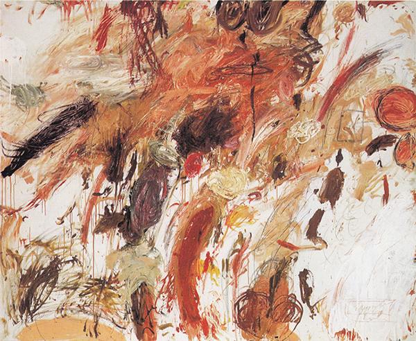 Ferragosto V, 1961 - Cy Twombly