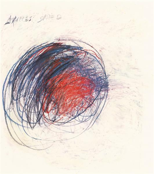 Fifty Days at Iliam. Shield of Achilles, 1978 - Cy Twombly