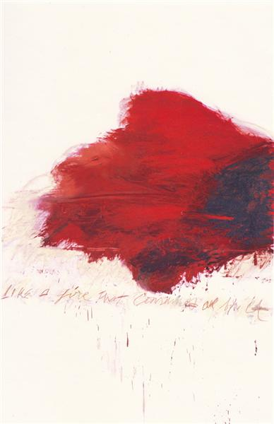 Fifty Days at Iliam. The Fire that Consumes All before It, 1978 - Cy Twombly