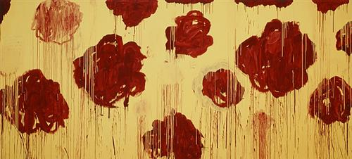 Untitled, (Blooming, A Scattering of Blossoms & Other Things) - Cy Twombly