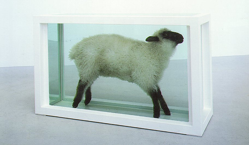 Away from the Flock, 1994 - Damien Hirst