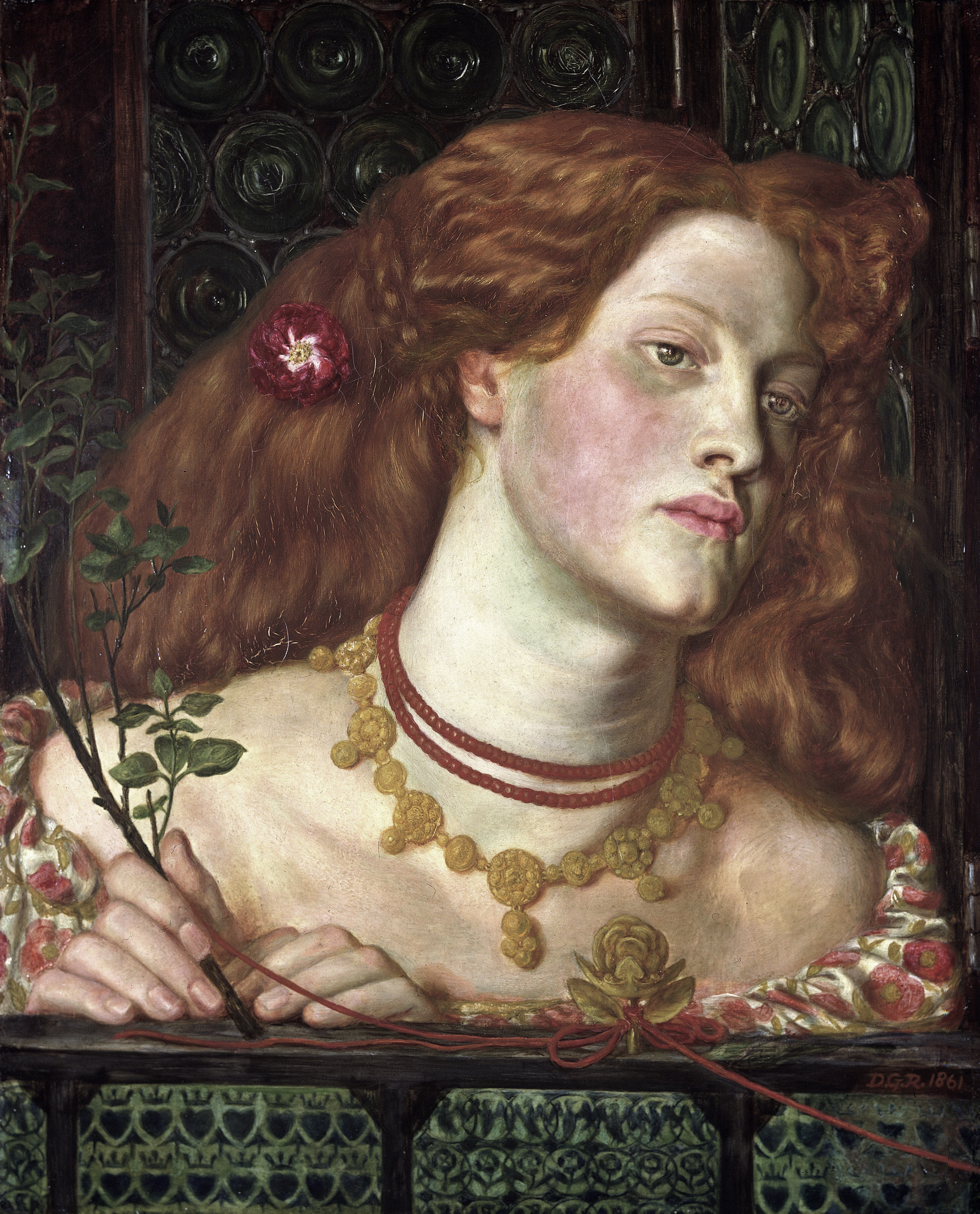 Fair Rosamund, 1861