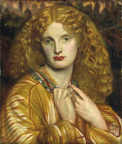 Helen of Troy - Dante Gabriel Rossetti