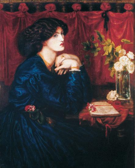 Jane Morris (The Blue Silk Dress), 1868