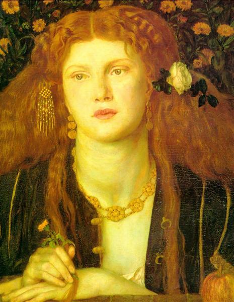 Kissed Mouth - Dante Gabriel Rossetti